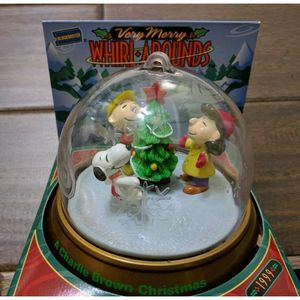 Peanuts Charlie Snoopy Ornament Whirl Around